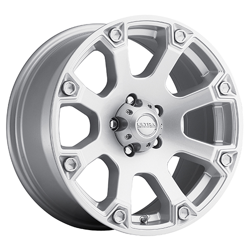 Ultra Wheels 245 Spline Silver