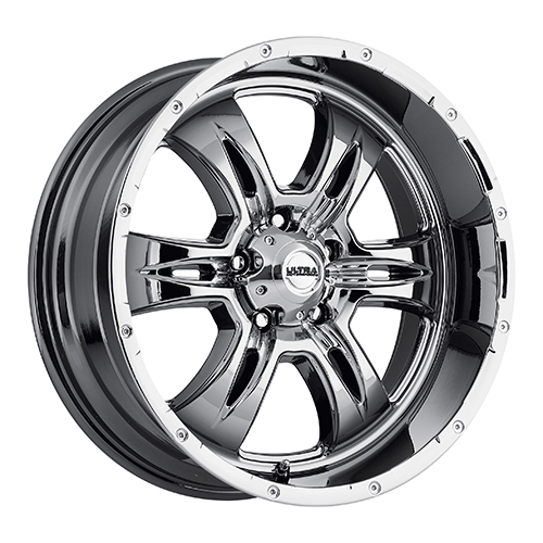 Ultra Wheels 249 Predator II Chrome Plated