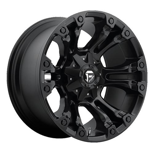 Fuel Offroad Wheels Vapor Aus Matte Black