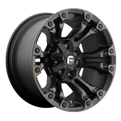 Fuel Offroad Wheels Vapor Black Machined