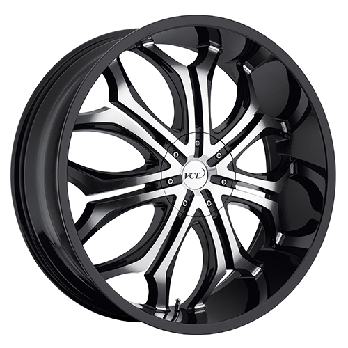 VCT Wheels Godfather Black/Machined