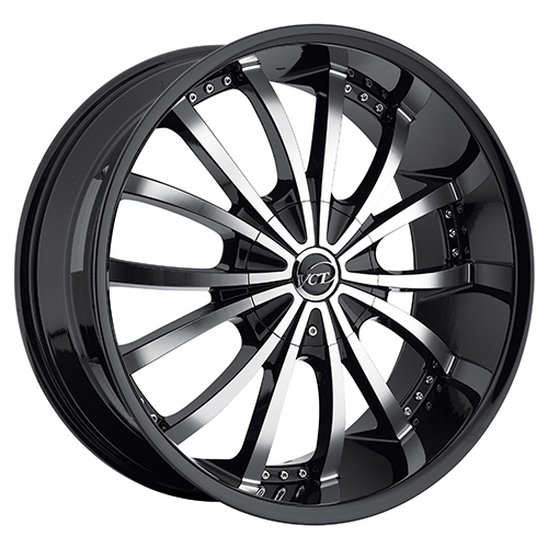 VCT Wheels Mancini Black/Machined