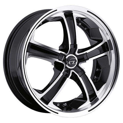 VCT Wheels Massino Black/Machined