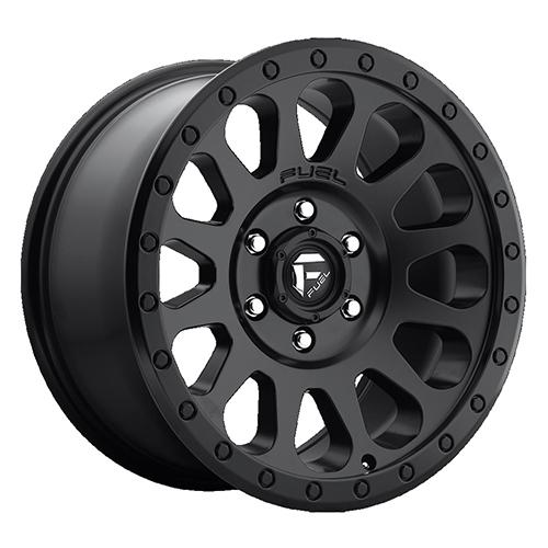Fuel Offroad Wheels Vector Matte Black