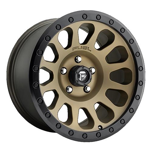 Fuel Offroad Wheels Vector Bronze