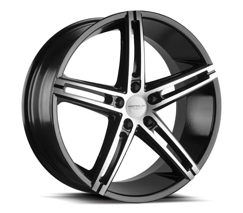 - Wheel Specials - Versus Wheels Vs453 Blk Mach Face