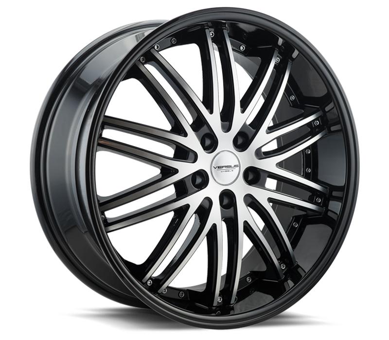 - Wheel Specials - Versus Wheels Vs907 Blk Mach Face