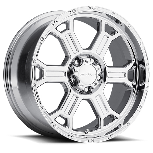 Vision Wheels 372 Raptor Chrome
