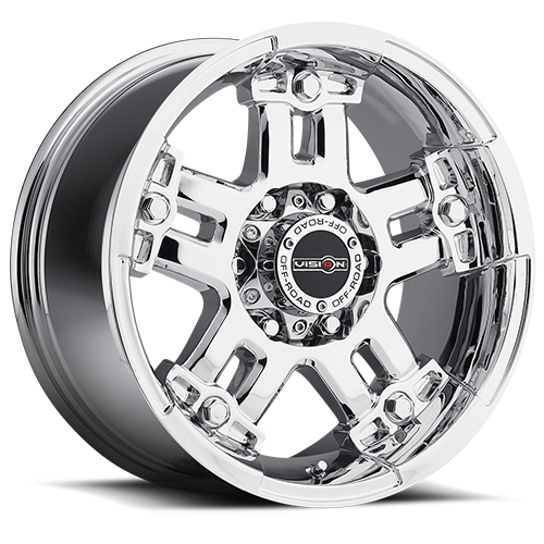 Vision Wheels 394 Warlord Phantom Chrome