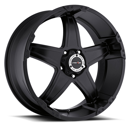 Vision Wheels 395 Wizard Matte Black
