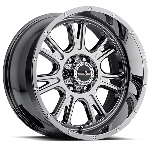 Vision Wheels 399 Fury Phantom Chrome