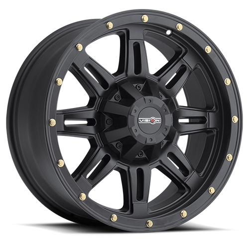 Vision Wheels 400 Incline Matte Black