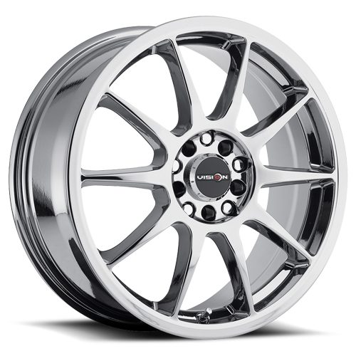 Vision Wheels 425 Bane Phantom Chrome