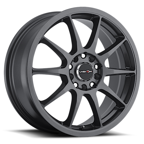 Vision Wheels 425 Bane Gunmetal