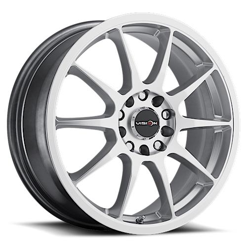 Vision Wheels 425 Bane Hyper Silver
