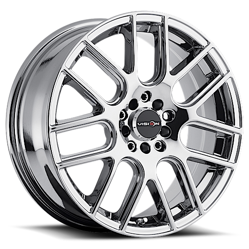 Vision Wheels 426 Cross Phantom Chrome
