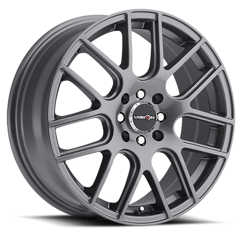 Vision Wheels 426 Cross Gunmetal