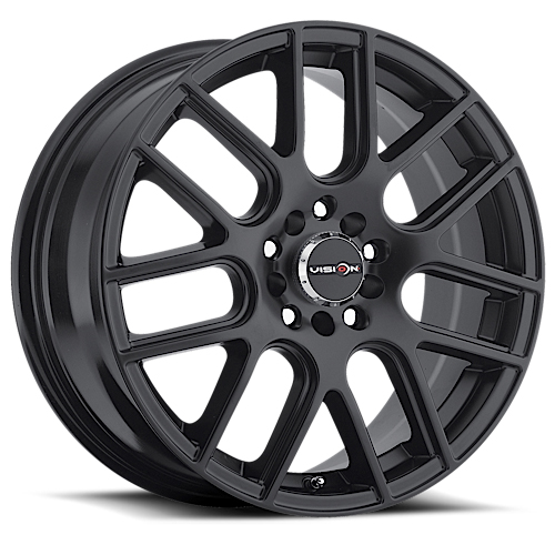 Vision Wheels 426 Cross Matte Black