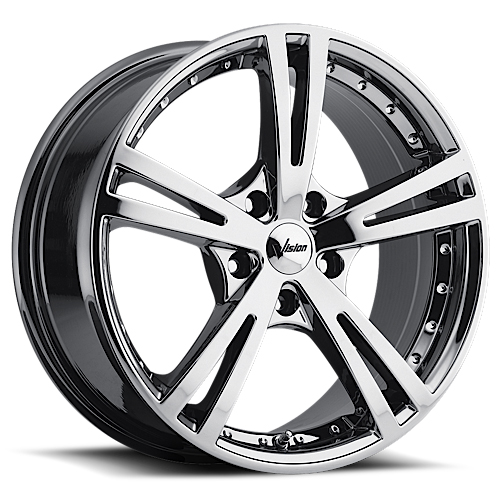 Vision Wheels 463 Xcite Phantom Chrome