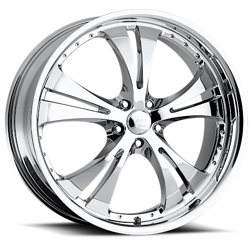 Vision Wheels 539 SHOCKWAVE w/Dimples Chrome