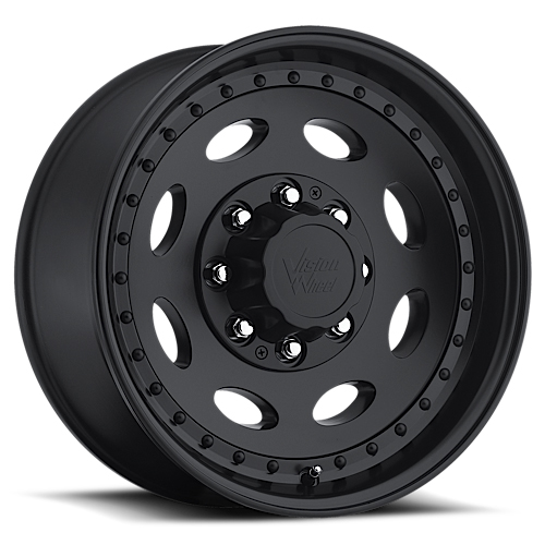 Vision Wheels 81 Hauler Single Matte Black