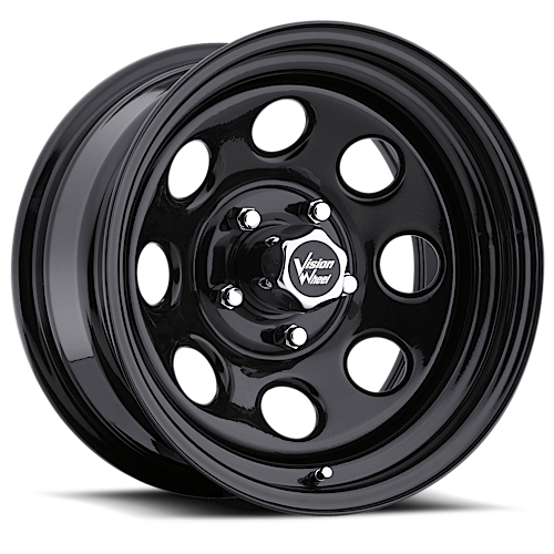Vision Wheels 85 Soft 8 Black