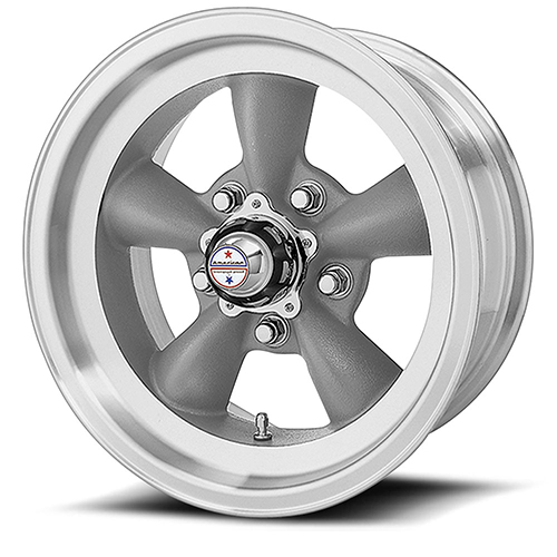 American Racing Wheels VN105  Torq Thrust D Torq Thrust Gray W/ Mach Lip