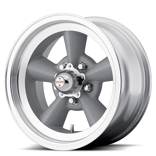 American Racing Wheels VN309  TT O Vintage  Silver W/ Machined Lip