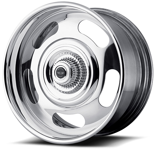 American Racing Wheels VN327  Rally 2- Piece Chrome Center Polished Rim
