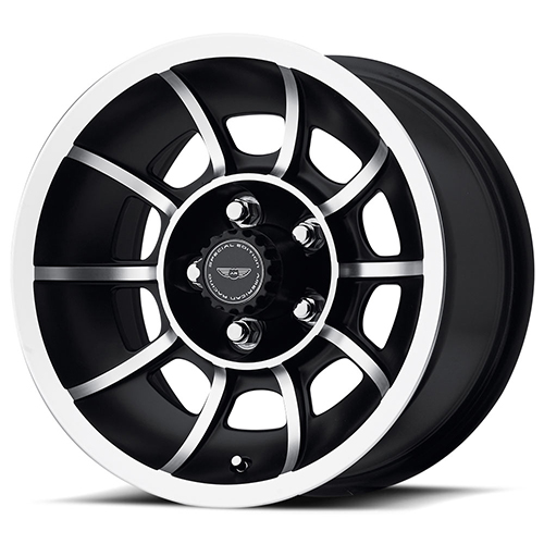 American Racing Wheels VN47  Vector Satin Black Machined