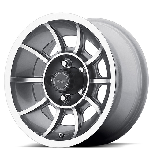 American Racing Wheels VN47  Vector Anthracite Machined