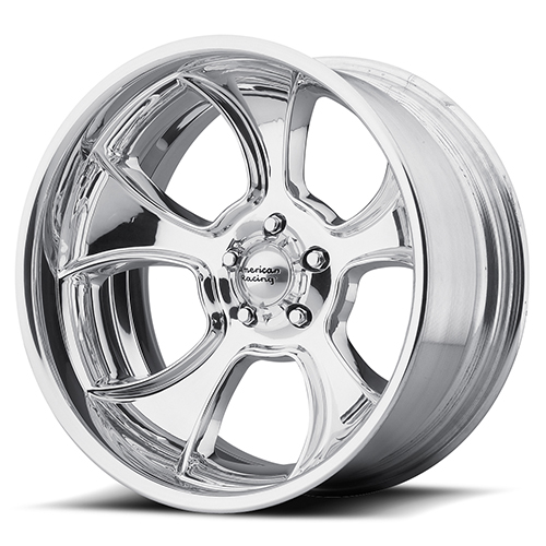 American Racing Wheels VN474 Gasser 2- Piece Polished