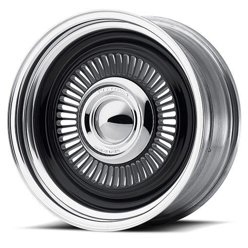 American Racing Wheels VN478 Turbine 2- Piece Gloss Black Milled Center