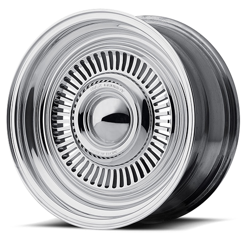 American Racing Wheels VN478 Turbine 2- Piece Chrome Plated Center