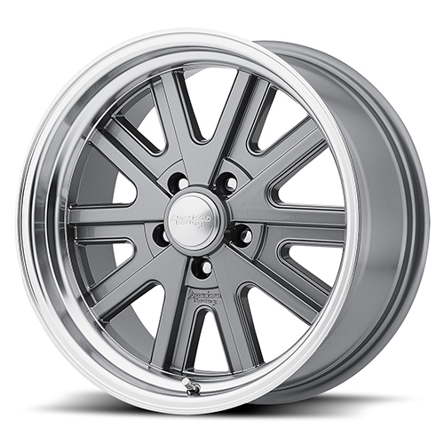 American Racing Wheels VN527 Mag Gray Machined