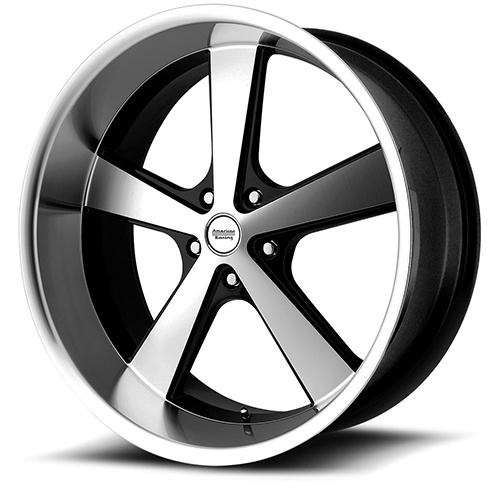 American Racing Wheels VN701  Nova Gloss Black Machined