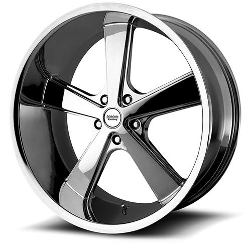 American Racing Wheels VN701  Nova Chrome Plated