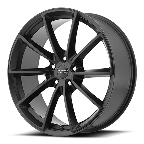 American Racing Wheels VN806 Fast Back Satin Black