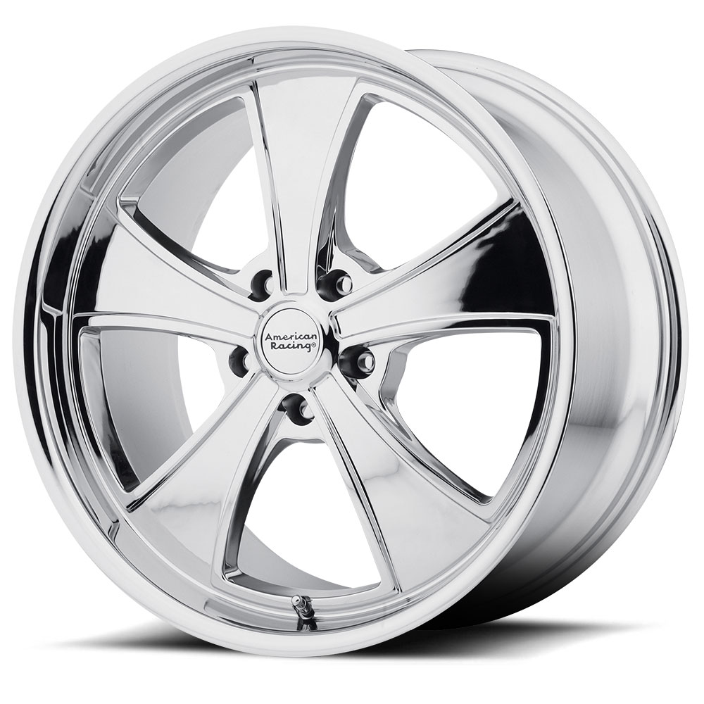 American Racing Wheels VN807 Mach 5 Chrome Plated