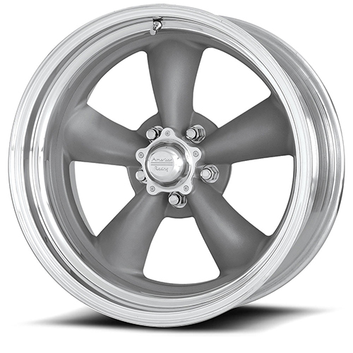 American Racing Wheels VN205  Classic Torq Thrust II Mag Gray Center Polished Barrel
