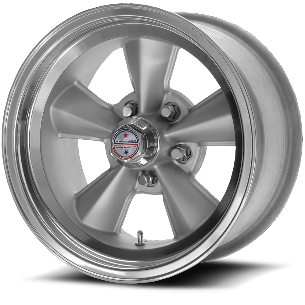 American Racing Wheels VNT70R Gunmetal W/ Polished Lip