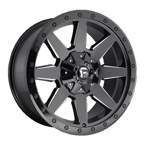 Fuel Offroad Wheels Wildcat Black Milled