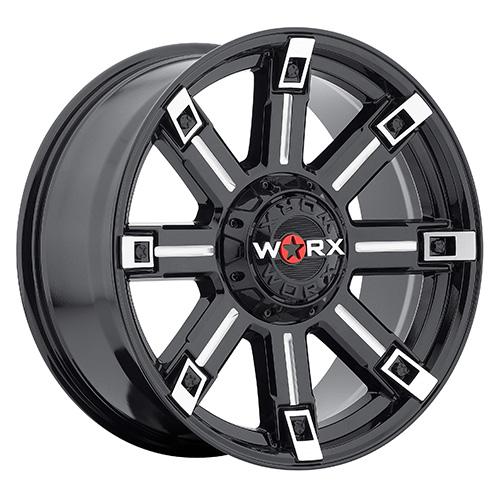 - Wheel Specials - WORX Wheels 806 G-Blk/Mill