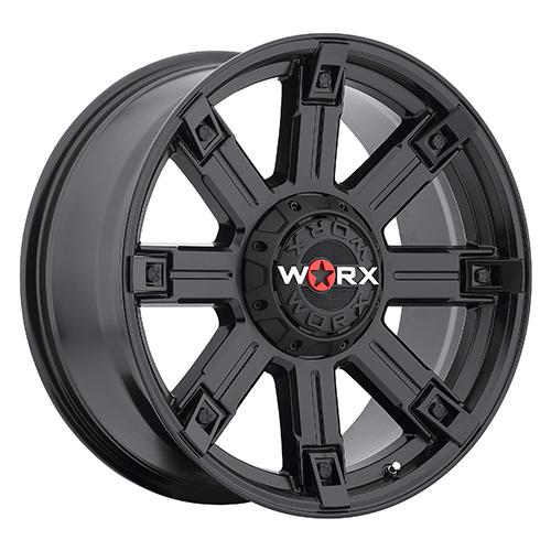 Worx Offroad Wheels 806 Triton Satin Black