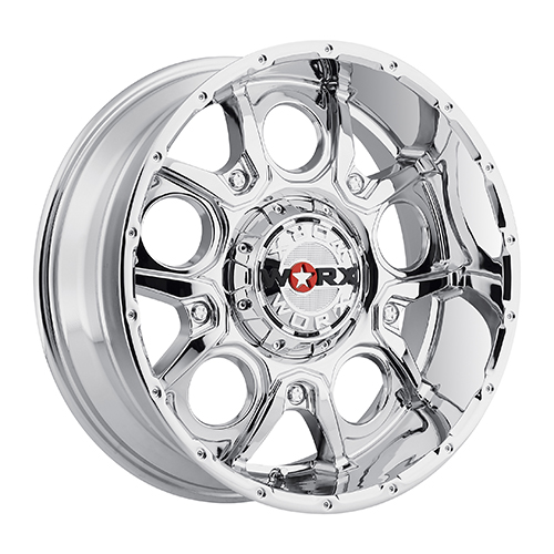 Worx Offroad Wheels 809 Rebel Chrome