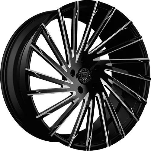 Lexani Wheels WRAITH Machined Groove