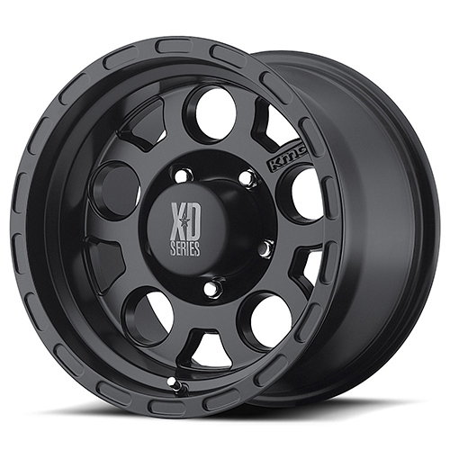XD Series by KMC Wheels XD122  Enduro Matte Black
