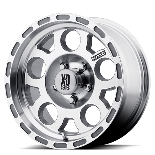XD Series by KMC Wheels XD122  Enduro Machined With Clearcoat