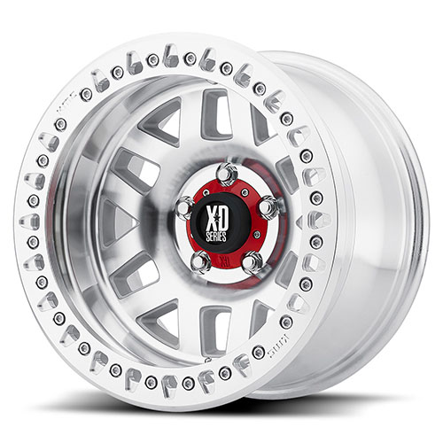 XD Series by KMC Wheels XD229 Machete Crawl Machined