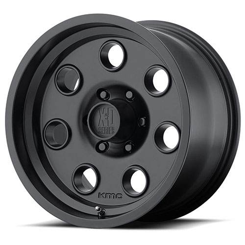 XD Series by KMC Wheels XD300 Pulley Satin Black